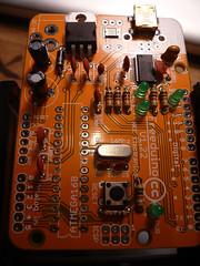 2013-06-30 15.29.07 (indiamos) Tags: electronics circuitboard freeduino