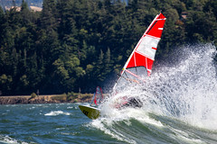 Ripping the Swell (Pierce Martin) Tags: summer oregon canon mthood windsurfing bestplaceonearth hoodriver hatchery canon70200mm canon60d