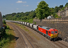 The Beverage Report (Richie B.) Tags: derbyshire traction brush db class 60 schenker procor chinley 60091 6h03