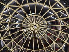 Techo / Roof (Marcos Daniel Bongiovanni) Tags: reflejo cupula vidrio techo teto estructura simetria