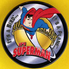 IT'S A BIRD IT'S A PLANE IT'S SUPERMAN (Leo Reynolds) Tags: canon eos iso100 pin superman badge button squaredcircle 60mm f80 0125sec 40d hpexif 033ev groupbuttons grouppins groupbadges xleol30x sqset093 xxx2013xxx