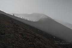 Sul bordo del cratere (Andrea Rapisarda) Tags: fog volcano nikon ngc c