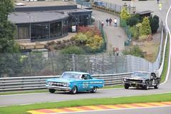 Mercury Comet & Ford Mustang (ekawrecker) Tags: classic car race belgium historic hour six spa 2013