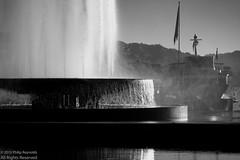 Wagenbach Fountain (The Cassandra Project) Tags: street bw fountain digital schweiz switzerland suiza swiss brunnen luzern sw fujifilm svizzera schwarzweiss lucerne reportage sveitsi kkl europaplatz wagenbachbrunnen xpro1 xf60mmf24rmacro
