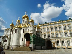 Cathedral of the Annunciation (Letty*) Tags: travel europe russia moscow churches cathedrals etc synagogues mosques russiaandescandinavia
