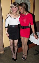 Kitten & Kacey! (kaceycd) Tags: pumps highheels tgirl stilettoheels pantyhose crossdress spandex lycra tg stilettos minidress sexypumps opentoepumps platformpumps stilettopumps peeptoepumps tstrappumps