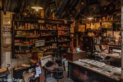 Old Garage Shop (Scrufftie) Tags: uk england museum canon unitedkingdom hampshire beaulieu countryhouse canonef24105mmf4lisusm canon5dmkii lightroom4
