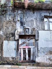 Vigo Dereliction two (saxonfenken) Tags: door city abandoned stone grey spain decay thumbsup derelict vigo madeofstone gamewinner 7068 thechallengefactory herowinner pregamewinner 7068city