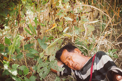 The Sleepy Hiker (Shutterfreak ) Tags: life old travel sleeping sunlight man nikon nap afternoon hill tribal tired hiker nikkor aboriginal hillside documentation bushes bangladesh bandarban exhausted tracts hasin d5000 35mmf18g inkiad