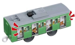 拉拉熊 山手線列車