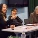Panel consisting of Cecilia Brunson (Independent Curator), Professor Dawn Ades, and Professor Valerie Fraser