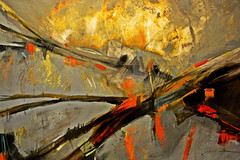 Extendido (Campanero Rumbero) Tags: color muro art colors wall museum painting pared paint arte colores museo pintor pintura republicadominicana artista santodomingo tecnica pincelada