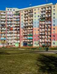 Colorful (Maciek Lulko) Tags: house colors nikon colorful colours poland polska wroclaw wrocaw blockofflats