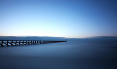 Littlehampton Breakwater, West Sussex (Simon Verrall) Tags: beach pier break westsussex breakwater littlehampton climping