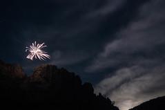 Light the Night (FroseN in Time) Tags: mountains nature photography climb fireworks hike wv westvirginia rockclimbing seneca