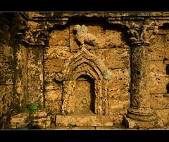 Detalls (PCB75) Tags: pakistan archaeology site stupa punjab archaeological ciutat arqueologia taxila estupa yacimiento sirkap arqueolgic jaciment   demetrii