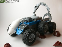 ZX-1 Rover (Dead Frog inc.) Tags: mars lego space craft scifi land spacecraft grabber 2014 landcraft febrovery