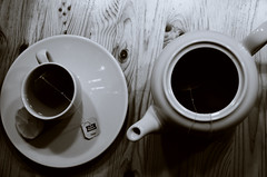 tea time ep. 1 (pixelslovepunk photography) Tags: cup ceramic tea can steam pot porcelain steaming