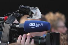 TV ploegen aanwezig huldiging in Assen van de sporters olympische winterspelen in 2014 (willemsknol) Tags: assen schaatsers svenkramer olympischewinterspelen irenewust inhuldigingsporterswinterspelen2014