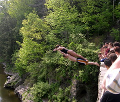 Gorge Diving (Seabamirum) Tags: lake divers gorge cornell beebe