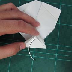 วิธีพับกระดาษเป็นรูปปลาแซลม่อน (Origami Salmon) 037
