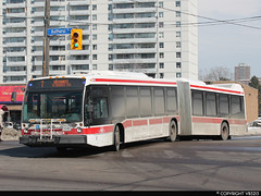 Toronto Transit Commission #9015 (vb5215's Transportation Gallery) Tags: toronto bus nova ttc transit commission artic lfs 2013