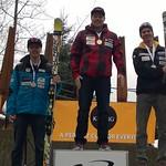 Keurig Cup Spring Series, Whistler - Men's GS day 1 - 1st Ben Thomsen; 2nd Martin Grasic; 3rd Kevyn Read