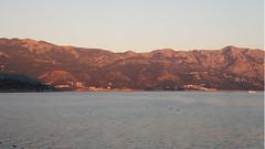 Mountains at sunset (Taurus_tlt) Tags: sunset adriatic montenegro budva crnagora