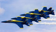 US Navy Blue Angels (Lazaro C.) Tags: us navy hornet 18 blueangels fa klal sunnfun lakelandregionalairport