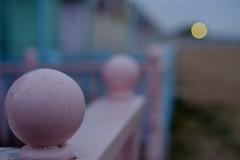 (matt barton) Tags: west beach 35mm island fuji bokeh 14 hut fujifilm avenue seaview mersea