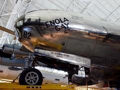 "B-29 Superfortress ""Enola Gay"" (MC.202) Tags: smithsonian wwii hiroshima worldwarii littleboy atomicbomb enolagay udvarhazy b29 superfortress nasm tibbets"