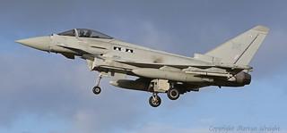 RAF 2 Sqn Typhoon Eurofighter