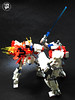 BG-011B Build Burning Gundam 1 (Commander626) Tags: robot lego hard suit burning fighters try build combat gundam mech