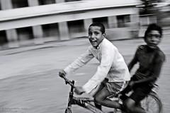 Joy Of Riding ...... (Hafizul Haider Robin) Tags: blackandwhite smile joy riding riders