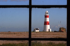 Orford Ness lighthouse (waynedavey67) Tags: lighthouse canon landscape outdoors framed 7d nationaltrust orfordness sigma1020f35