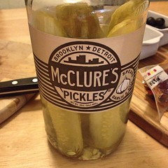 "I make and can pickles using fresh cucumbers from our garden every year. I had heard how delicious  @mcclurespickles were, but I had never had the chance to taste them for myself.   I found a jar of them today and I am here to tell you that these Garlic & • <a style=""font-size:0.8em;"" href=""http://www.flickr.com/photos/54958436@N05/16281689989/"" target=""_blank"">View on Flickr</a>"