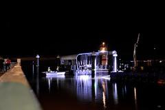 DSC_0056 (RUMTIME) Tags: night jetty c queensland tug barge pontoon coochie coochiemudlo