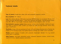 Kodak Retina Reflex IV - Instructions For use - Page 31 (Gareth Wonfor (TempusVolat)) Tags: kodak retina reflex retinareflexiv instructionsforuse film 35mm guide slr instructions vintage tempusvolat gareth tempus volat mrmorodo garethwonfor mr morodo epson perfection v200 scan scanner scanning scanned wonfor