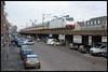 14-02-2014, Delft, NSI 186 142 + 4775 (Koen langs de baan) Tags: amsterdam ns delft international brussel spoorviaduct icr 9236 4775 luchtspoor 186142 captrain