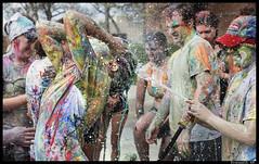 9 (Praneeth Rajsingh) Tags: street color fight paint university painted photojournalism documentary social iowa pj drake raj desmoines singh d610 praneeth 5018g praneethrs praneethrscom