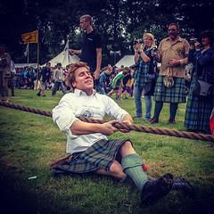 Tug of War (FotoFling Scotland) Tags: kilt rope tugowar lochearnhead meninkilts instagram