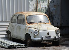 Fiat 600 D (Alessio3373) Tags: abandoned junk rust fiat neglected rusty forgotten rusted scrap abandonment corrosion corroded ruggine rustycars unloved unused fiat600 scrapped abandonedcars 600d junkcars scrappedcars fiat600d forgottencars autoabbandonate