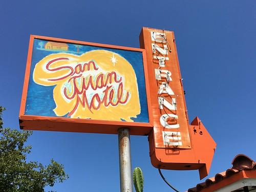San Juan Motel Sign