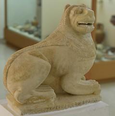 Cypro-Archaic Lion (orientalizing) Tags: sculpture lion cyprus marion limestone inscription polis archaic archaeologicalmuseum funerarysculpture northerncoast 6thcenturybc archaia cyprosyllabicscript