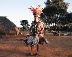 Aldeia Quatro Cachoeiras (fergprado) Tags: travel brazil man brasil culture cacique homem cultura tribo indigenous oca ndio aoarlivre idigena