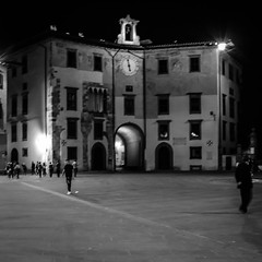 Streets of Pisa 11 (chriswalts) Tags: travel sunset italy streets tower night pisa leaning