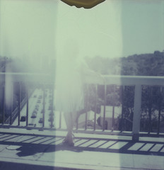 Lauryn polaroid 031Besotted Promises_ (Amandine B. Photography) Tags: bridge pink flowers blue sky nature stain fleur girl rose fleurs vintage garden polaroid downtown solitude loneliness chaos pastel dream young jardin bleu abandon pont tache fille daydream abandonment ville disappear jeune rve rtro disparaitre interseason intersaison