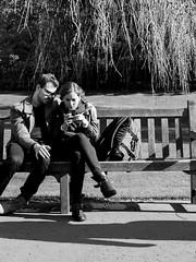 Social Medium (J.Robinson93) Tags: street camera trees blackandwhite sun white black grass digital landscape four photography scotland town photo edinburgh candid streetphotography olympus panasonic micro 17 capture scots thirds 25mm mkii em10 mirrorless