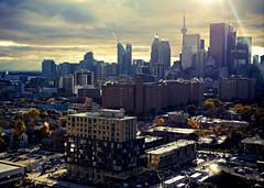 Toronto Skyline (Do Gon) Tags: toronto canada skyline striking cntower danforth gerard riverdale