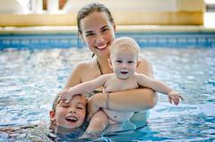 Girls (::: M @ X :::) Tags: girls summer water pool children women child swimmingpool pileta piscna